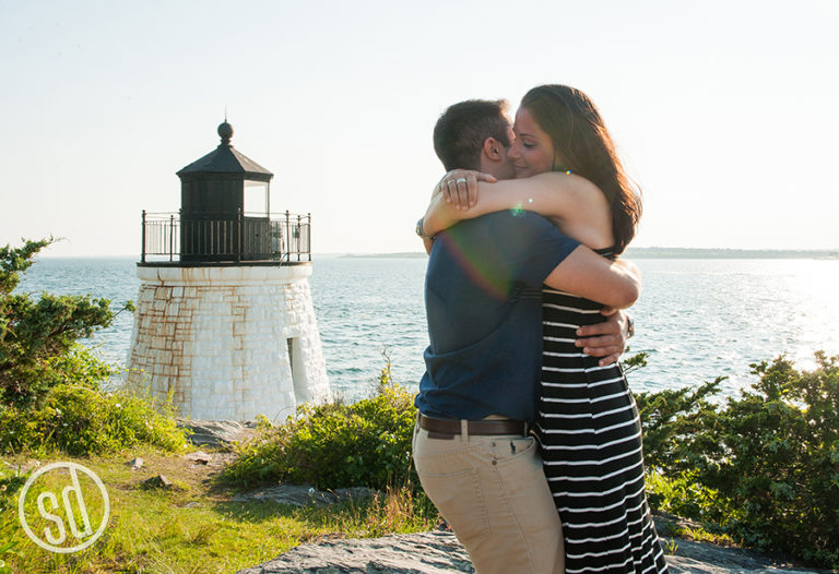 Proposal Shoot :: Nicole & Frank :: Castle Hill Inn Lighthouse